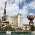 Paris Las Vegas op zwart